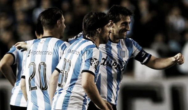 Racing, un mix de medio y banda
