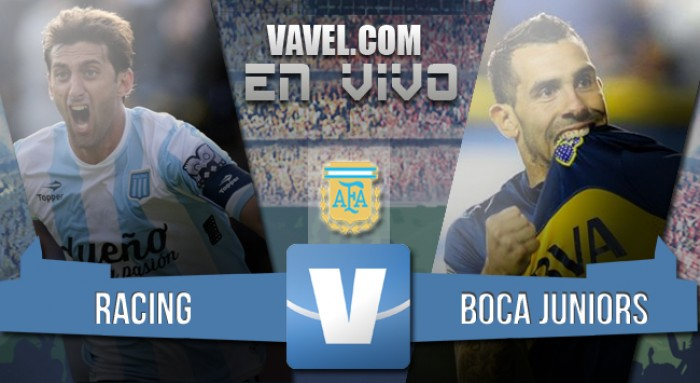 Resultado de Racing - Boca por el Torneo Transición 2016 (1-0)
