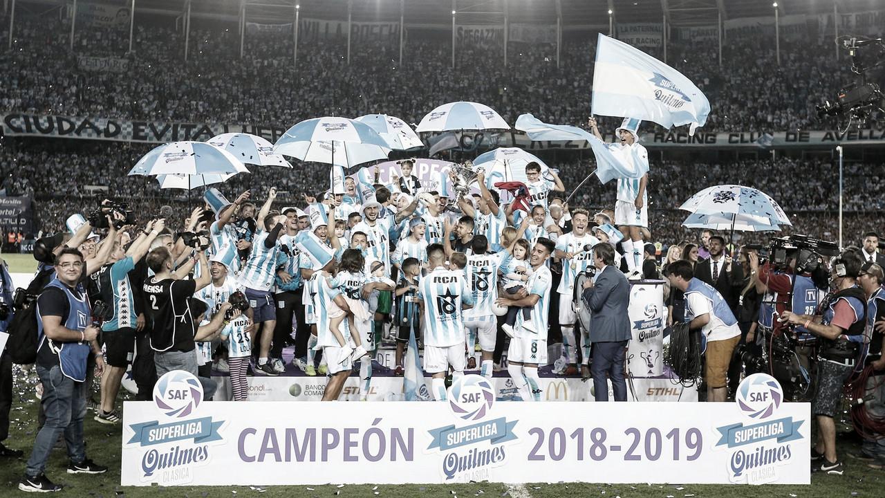 Racing campeón: la gloria se queda en Avellaneda después de un año brillante