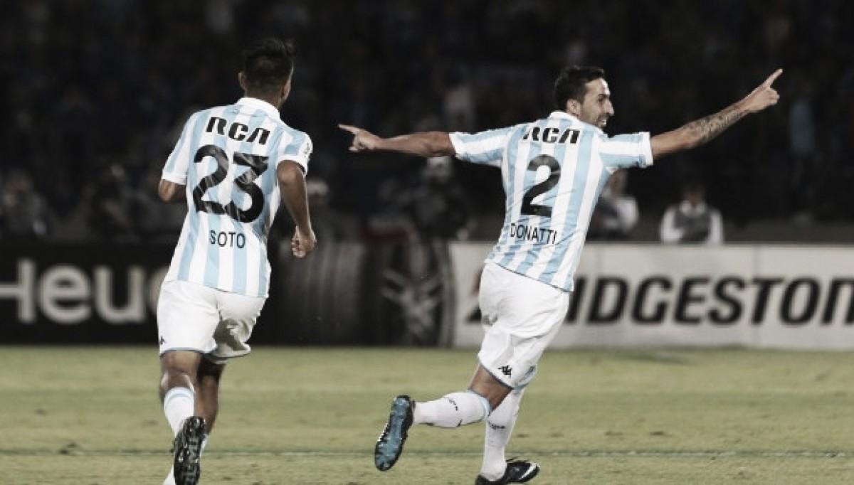 Racing se impone a la 'U' de Chile y avanza a los octavos de final de la Copa Libertadores