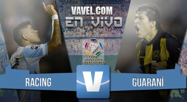 Resultado de Racing x Guaraní na Libertadores 2015 (0-0)