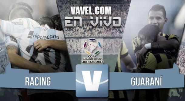 Resultado Racing - Guaraní por la Copa Libertadores 2015 (4-1)