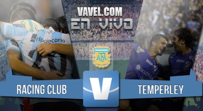 Resumen Racing Club 2-0 Temperley en la Despedida de Diego Milito