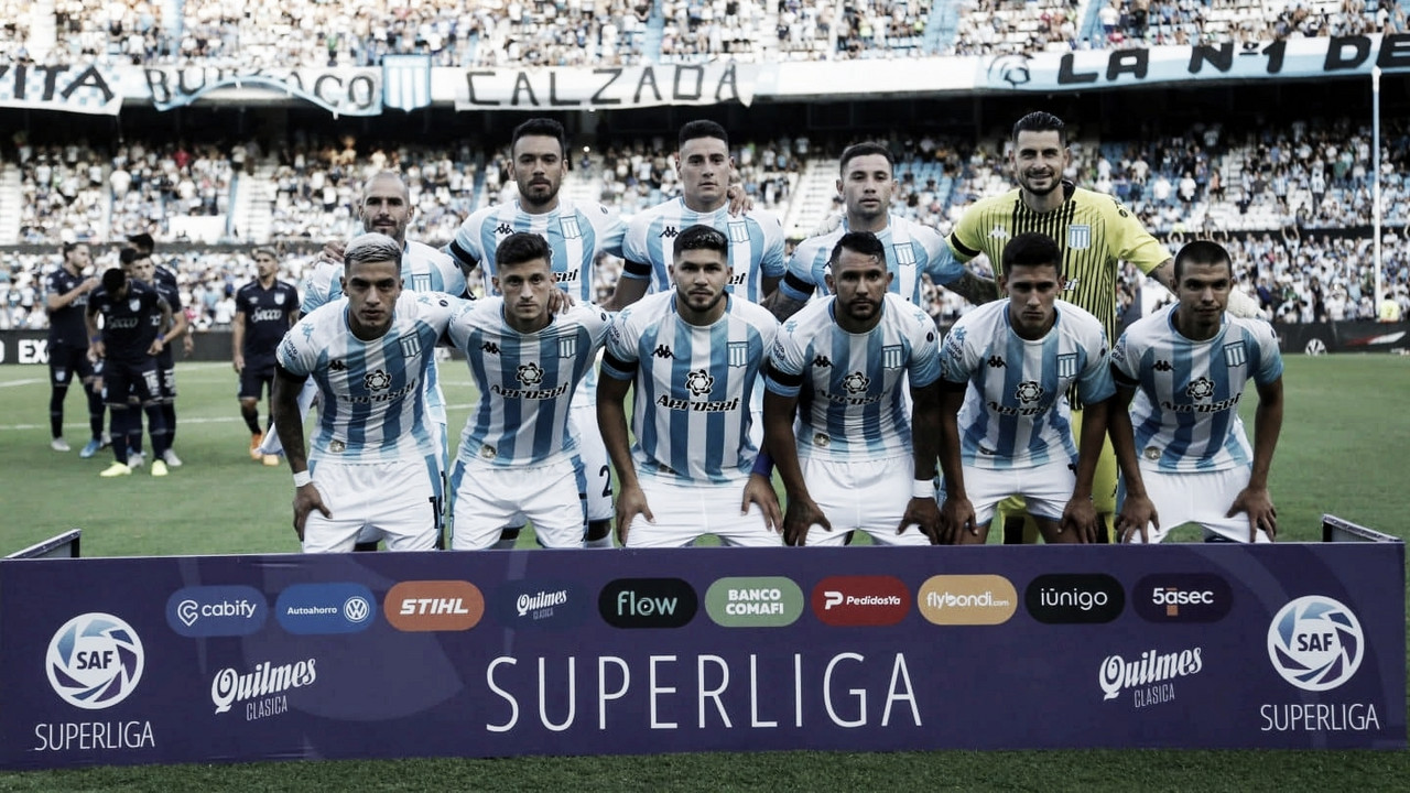 Racing Club clasificado a la Copa Libertadores 2021 /&nbsp; FOTO. Superliga.<div><br></div>