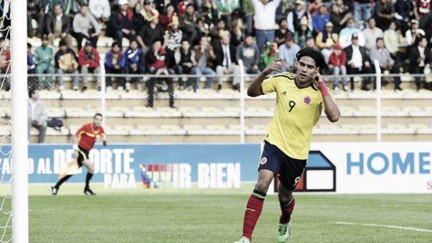 Recuento de las Eliminatorias Brasil 2014: Bolivia - Colombia