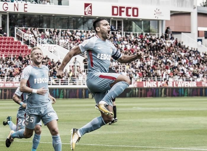 Após hat-trick diante do Dijon, Falcao García comenta situação de Mbappé no Monaco