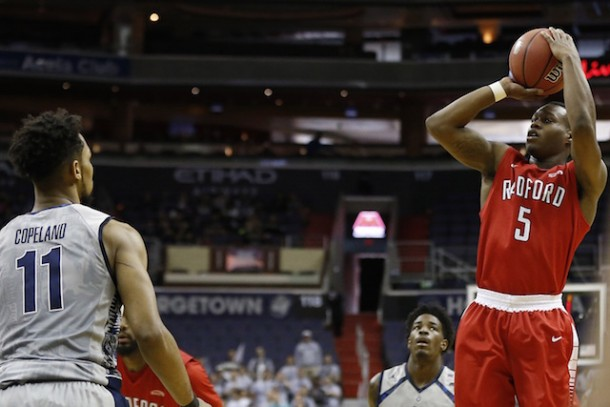 Radford Shocks Georgetown In DC To Add To Wild Opening Week In College Basketball