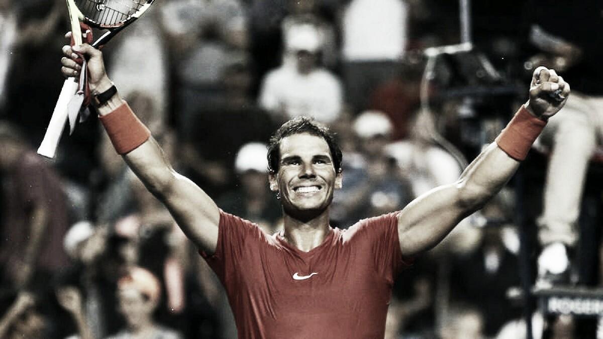 Nadal dio vuelta el partido y pasó a semifinales en Toronto