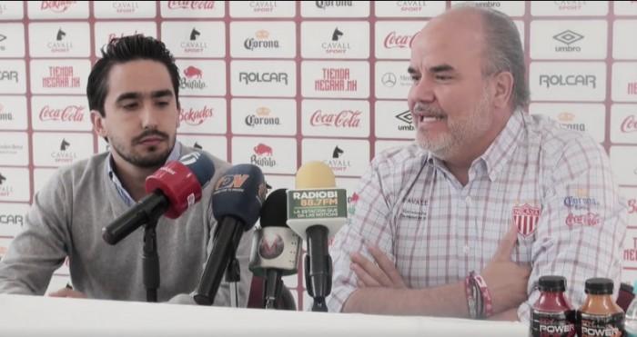 Presentan a Santiago Tinajero como nuevo Director General de Necaxa