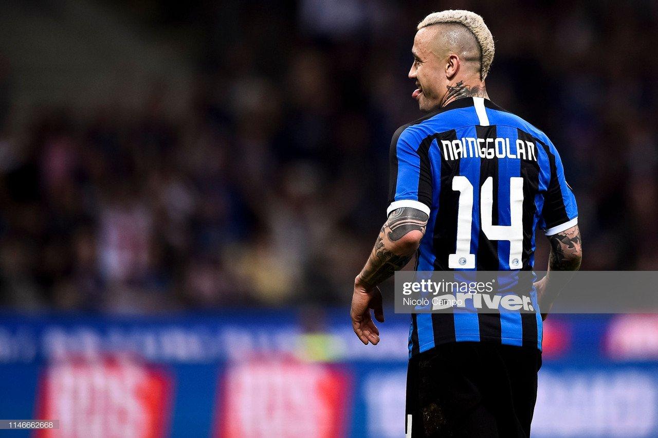 Inter Milan midfielder Radja Nainggolan completes loan move to Cagliari