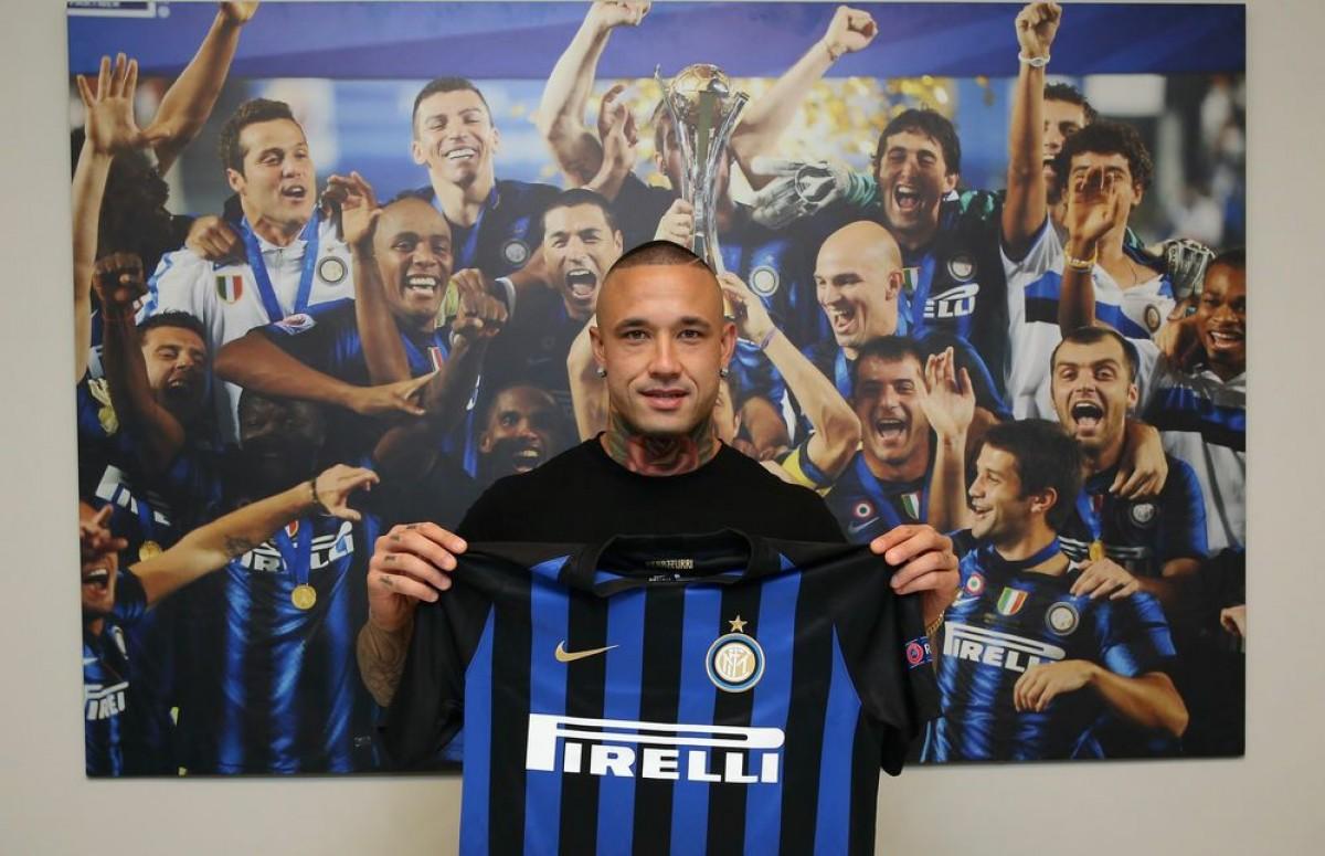 La conferenza stampa di presentazione di Nainggolan all'Inter
