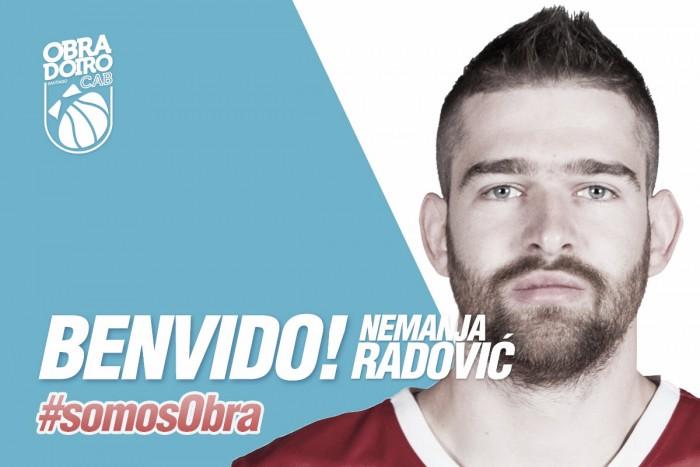 Nemanja Radovic ficha por el Obradoiro