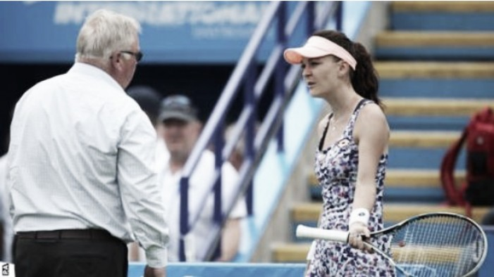 Rain delays quarterfinal games at Round 4 of Eastbourne