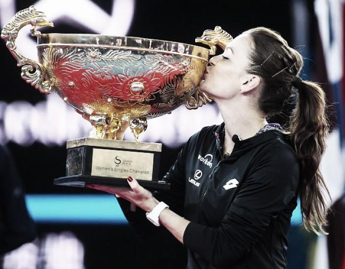 Radwanska es la campeona de Beijing
