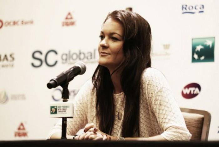 """Agnieszka Radwanska: """"A veces siento que necesito más entrenamientos que partidos"""""""