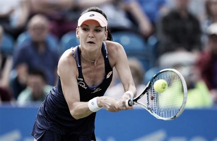 Agnieszka Radwanska is looking forward to Wimbledon