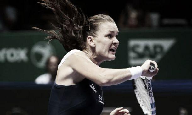 WTA Finals, gruppo rosso: Radwanska batte Halep e spera