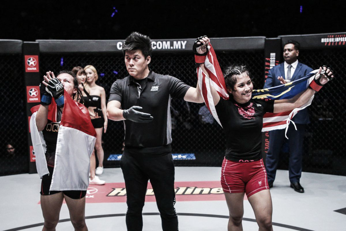Joven promesa del MMA camino al oro