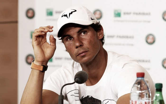 Rafael Nadal withdraws from French Open