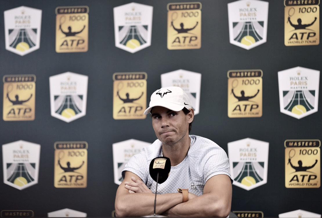 Nadal se retira de las ATP Finals