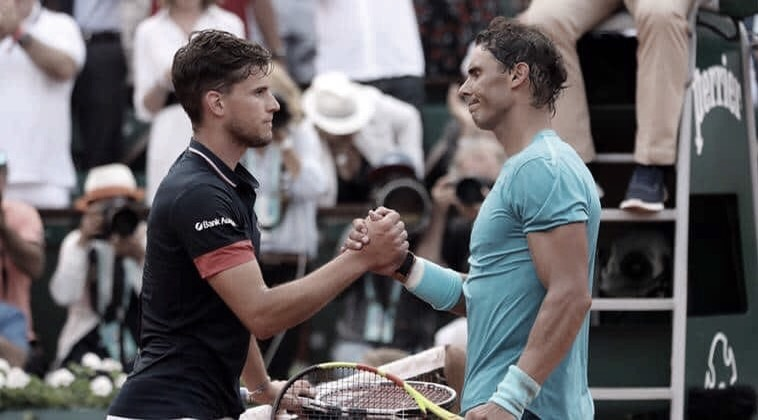 Rafael Nadal y Dominic Thiem se enfrentarán una vez más