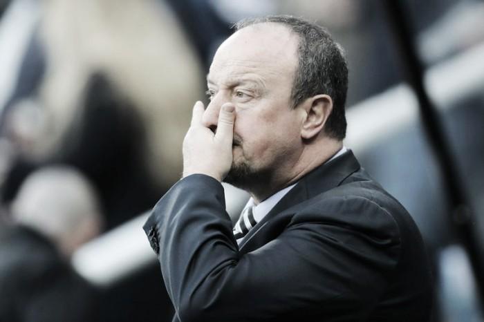 """Benítez: """"No reservamos para la copa, pensé que estos jugadores podían ganar al Blackburn Rovers"""""""