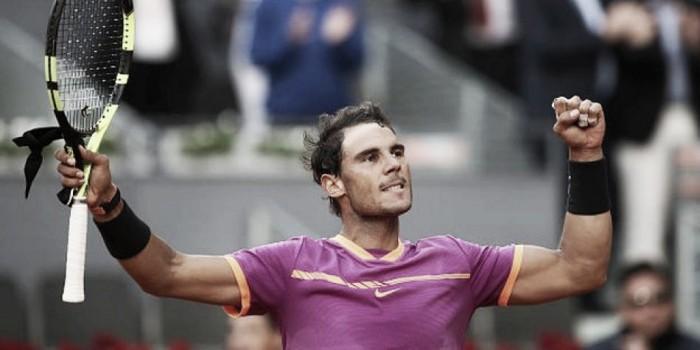 Rafael Nadal obtuvo el Mutua Madrid Open por quinta vez