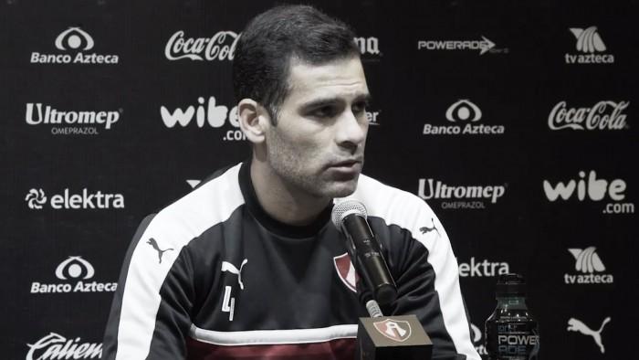 """Rafael Márquez: """"En mi mente esta en ser campeón con Atlas"""""""