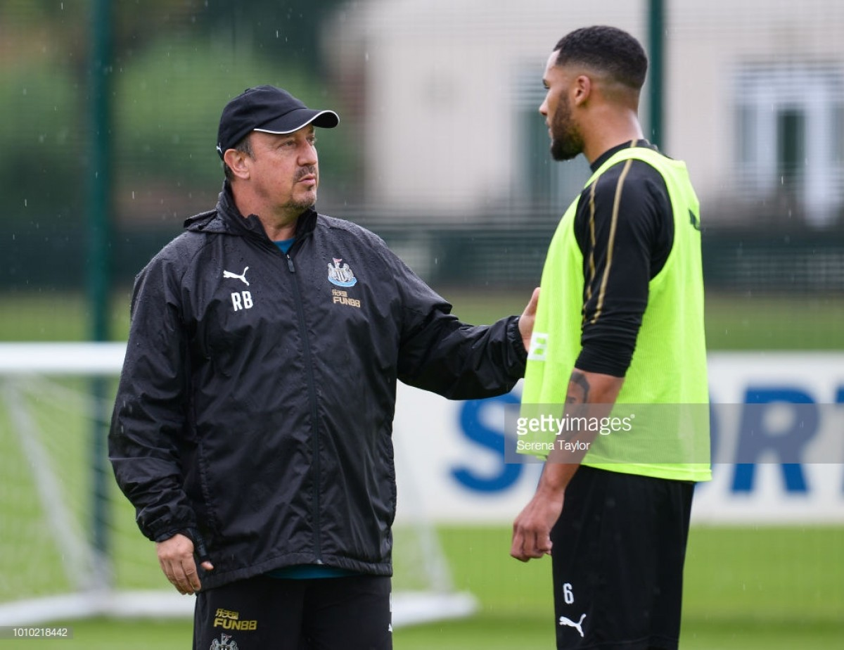 "Rafa Benitez should be ""the happiest man in town"" says Jamaal Lascelles"