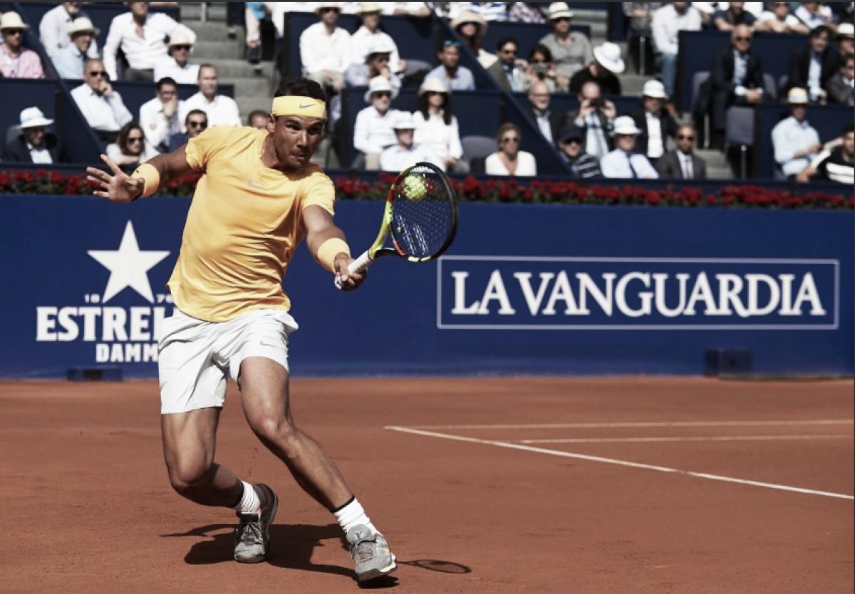 Nadal arrolla a Goffin y es finalista en Barcelona