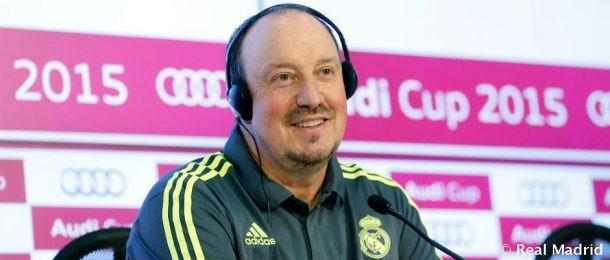 """Rafa Benítez: """"Estoy contento con el equilibrio del equipo"""""""