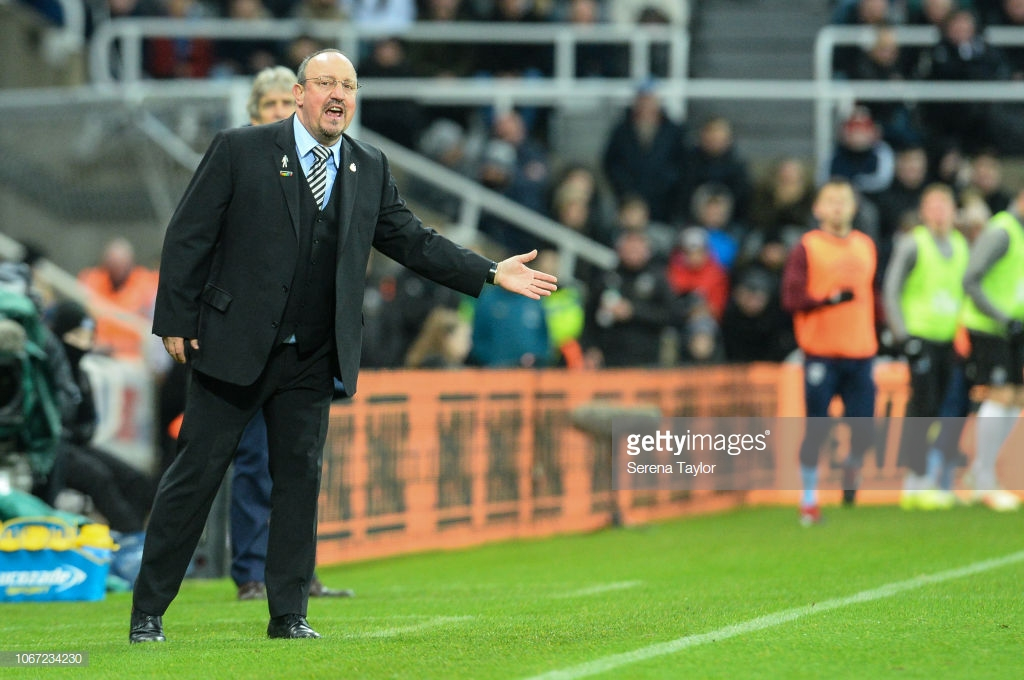 "Rafa Benitez issues messages to Newcastle players: ""Take your chances and don't make mistakes"""