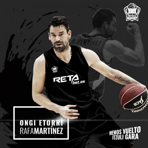 Rafa Martínez se une al Bilbao Basket