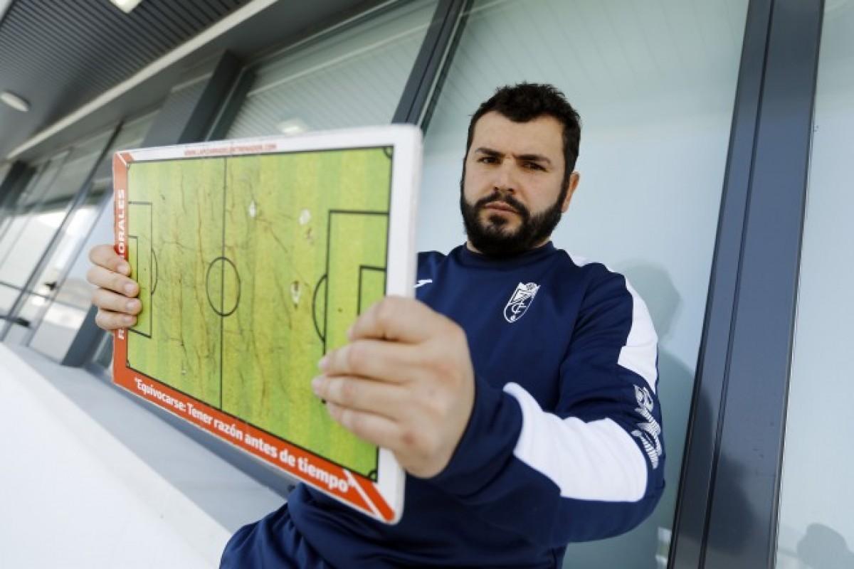 Rafa Morales, nuevo entrenador del Granada B
