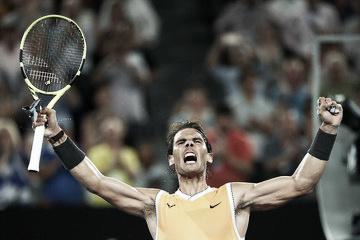 El camino de Rafael Nadal en el Open de Australia
