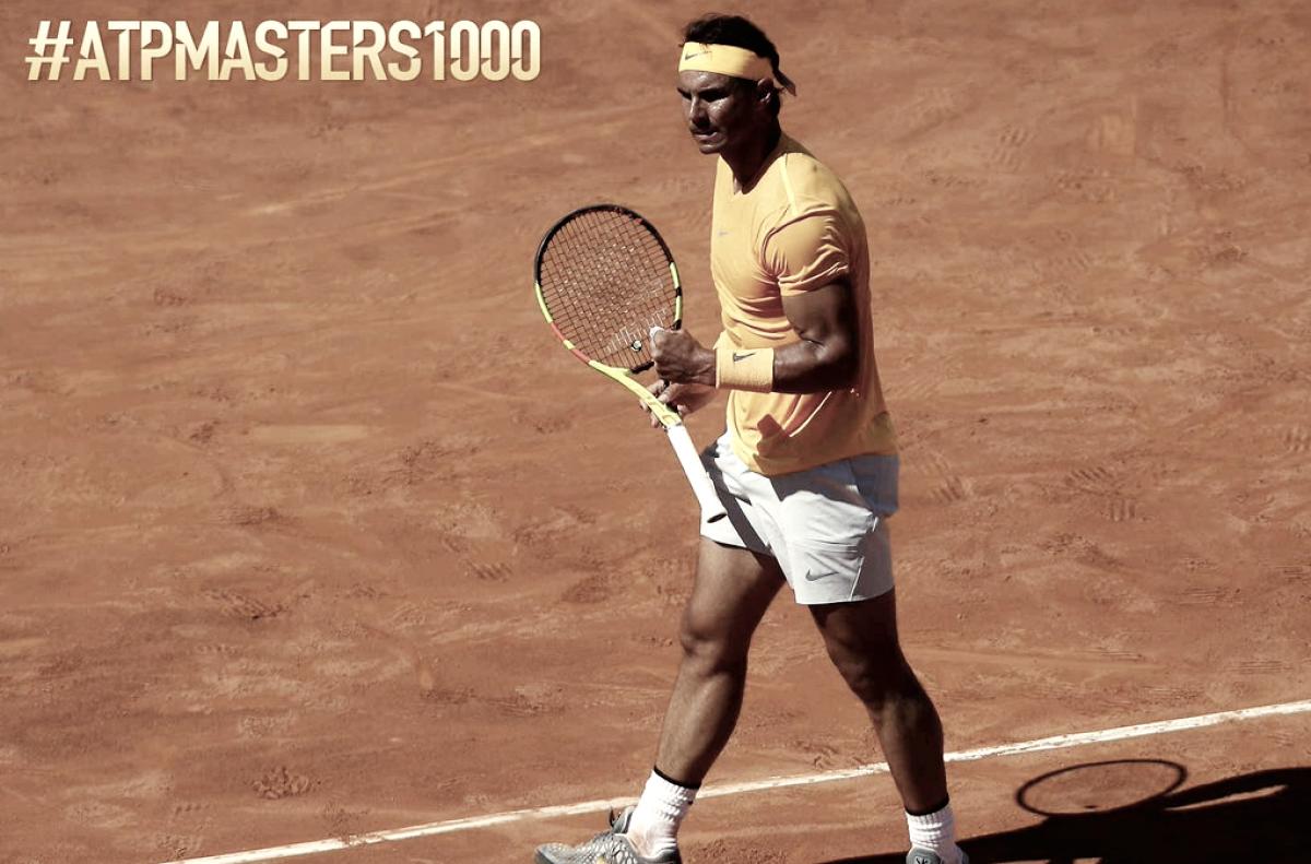 Nadal le ganó el clásico a Djokovic