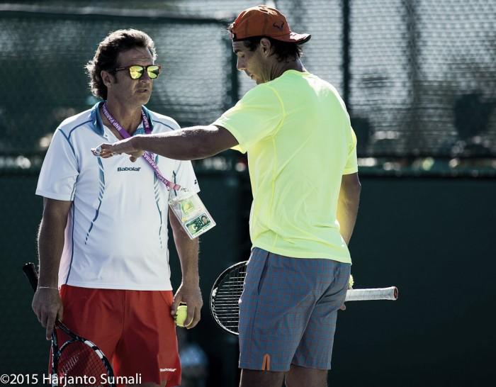 Francisco Roig discusses Rafael Nadal's gradual improvement and that a 10th Roland Garros title is the goal