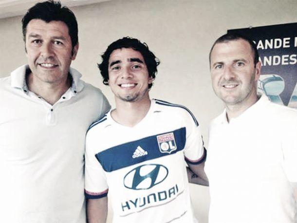 Lyon garante lateral ex-United: 'Bienvenue' Rafael Da Silva