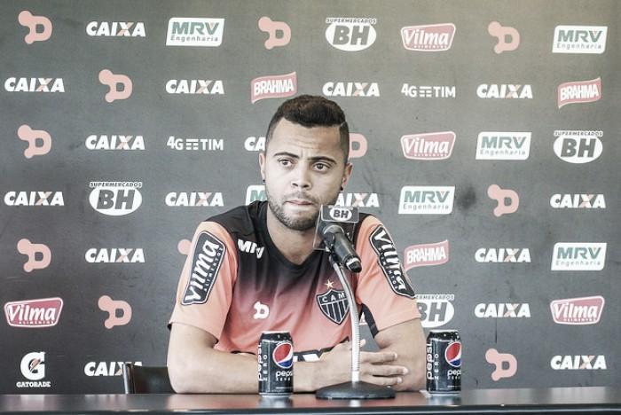 Rafael Carioca avalia como normal a perda de espaço no Atlético-MG