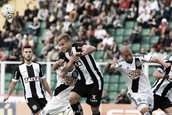 Figueirense e Ponte Preta pecam nas finalizações e empatam sem gols