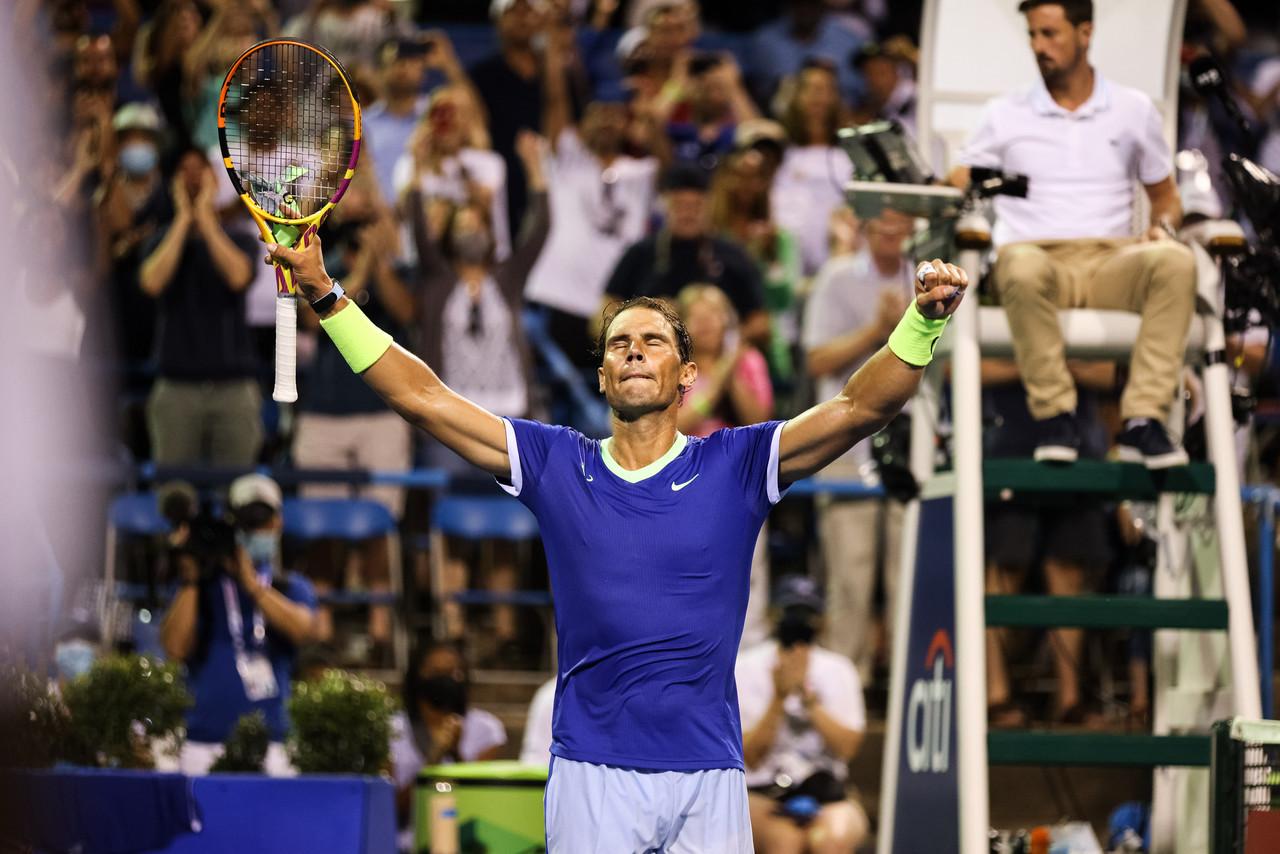 Citi Open: Rafael Nadal overcomes Jack Sock threat