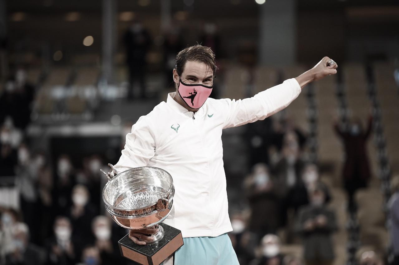 Rafael Nadal. Foto: Web Roland Garros