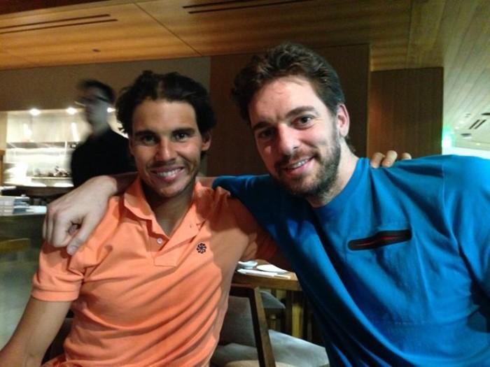 NBA Star Pau Gasol Defends Rafael Nadal On Doping Allegations