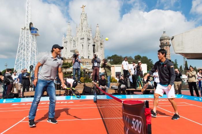 ATP Barcellona, tocca a Nadal e Fognini