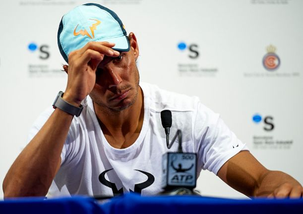 Is it the downfall of Rafa or just a confidence issue?