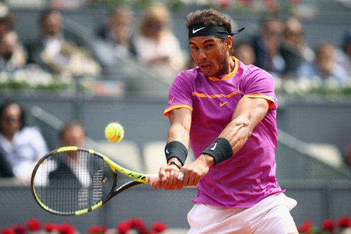 ATP Madrid - Urlo Nadal, ma Fognini spaventa lo spagnolo