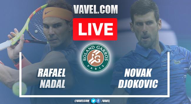 Highlights: Rafael Nadal 1-3 Novak Djokovic in Roland Garros 2021