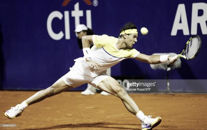 Argentina Open 2016: Nadal acabó con la ilusión local tras eliminar a Mónaco