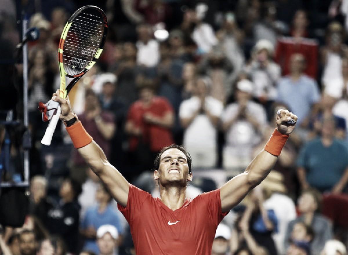 """Rafael Nadal: """"Estar en la final es muy importante para mí, un grandísimo resultado"""""""