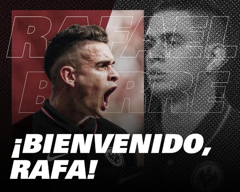 Rafael Santos Borré llega a la Bundesliga